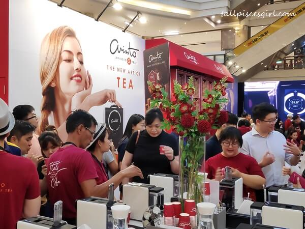 The crowd at Arissto booth during Malaysia Coffee Fest 2019