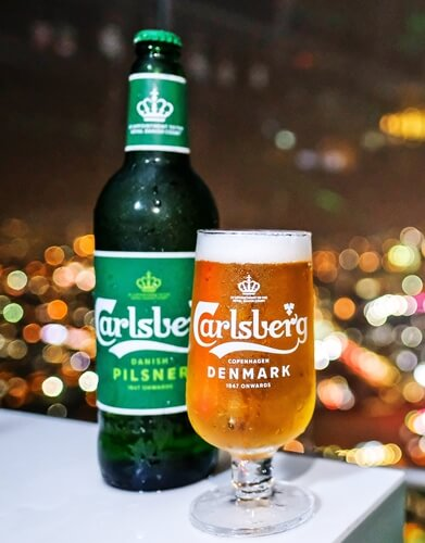Carlsberg new look and feel is most visible on its packaging