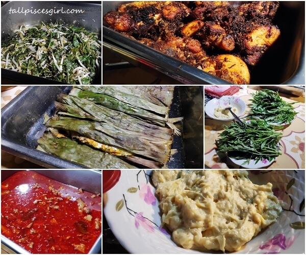 Catered Dinner @ Rimba Alor Villas Melaka