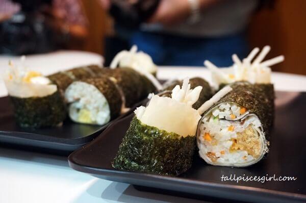Seaweed Popiah @ Seaweed Club
