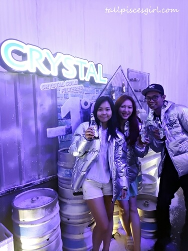 Meghan Ang, Charmaine Pua, Henry Lee at Tiger Crystal Media Launch