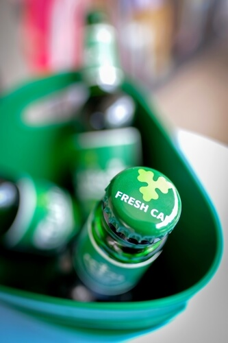 New Carlsberg Betterments - Carlsberg in bottles now comes with a Fresh Cap that removes oxygen from the headspace in the bottle, so you get fresher taste up to 5 times longer