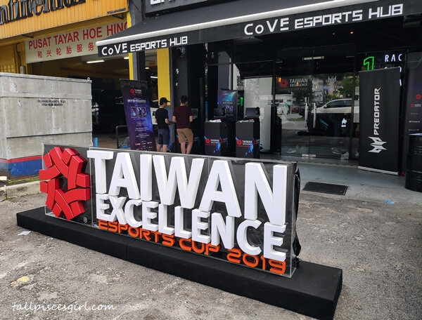 Taiwan Excellence Esport Cup 9th Tournament Qualifier at Cove Esports Hub, Subang Jaya