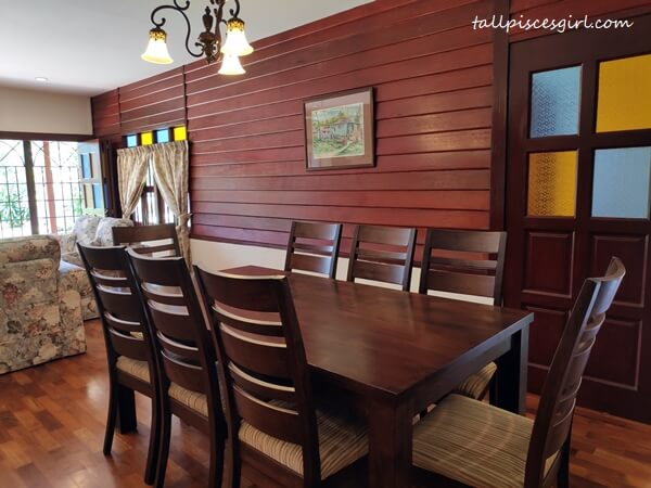 Villa Alor - Dining Area
