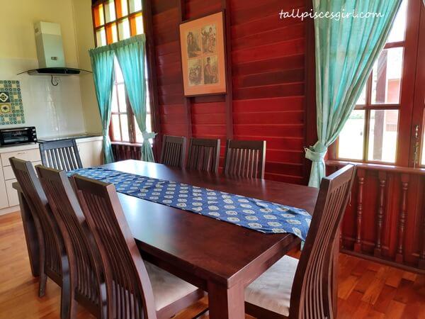 Villa Rimba - Dining Area