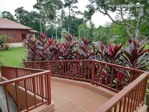 Wheelchair ramp @ Rimba Alor Villas Melaka
