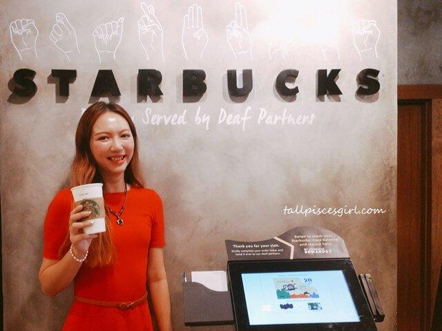 tallpiscesgirl @ Starbucks Signing Store Bangsar Village II