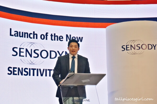 Bryan Wong, General Manager, GlaxoSmithKline Consumer Healthcare Sdn Bhd: We're launching Sensodyne Sensitivity & Gum to address teeth sensitivity and gum problems simultaneously, and to provide relief to patients so that they can continue to do more of the things they love without discomfort