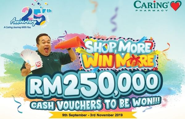 Caring Pharmacy Shop More Win More Contest