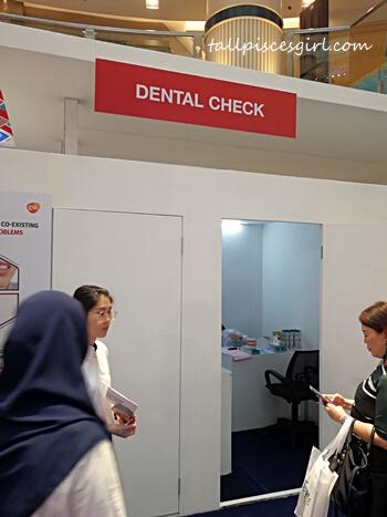 Free Dental Check at Sensodyne Roadshow