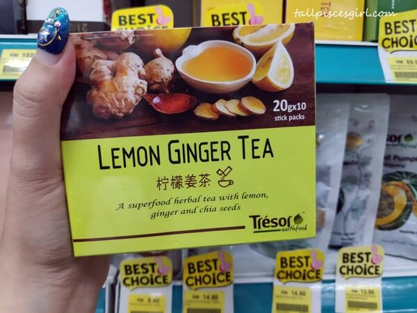 Tresor Lemon Ginger Tea