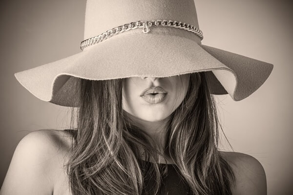 Accessorize with a hat