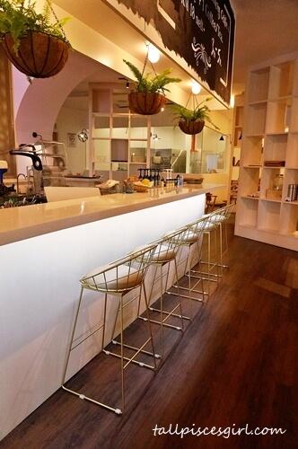 Bar Seating at Brew & Co