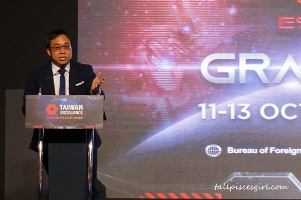 Mr Muhammad Farouq, Chief of Information, Esports Malaysia
