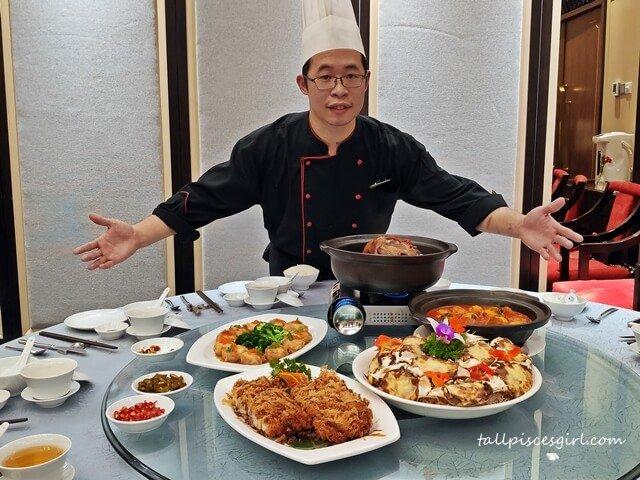 Zuan Yuan Executive Chinese Chef Tommy Choong Chan Hoo with Best of Hong Kong Menu