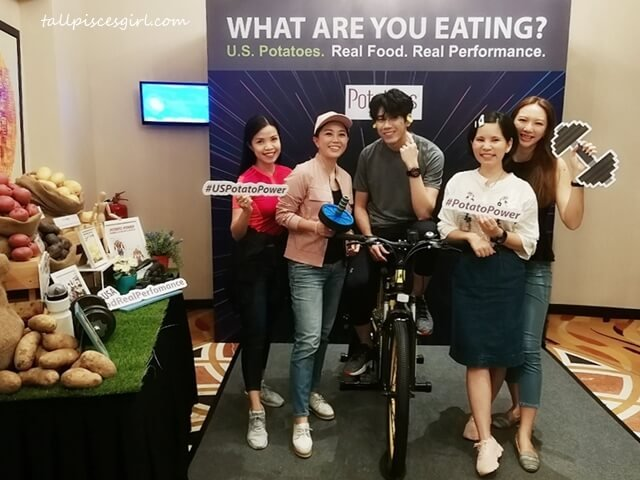 Bloggers at the launch of Real Food, Real Performance 2019 by Potatoes USA