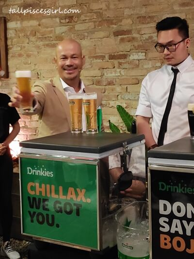 Drinkies Draught@Home Service lets you enjoy freshly tapped draught beer anywhere your party is