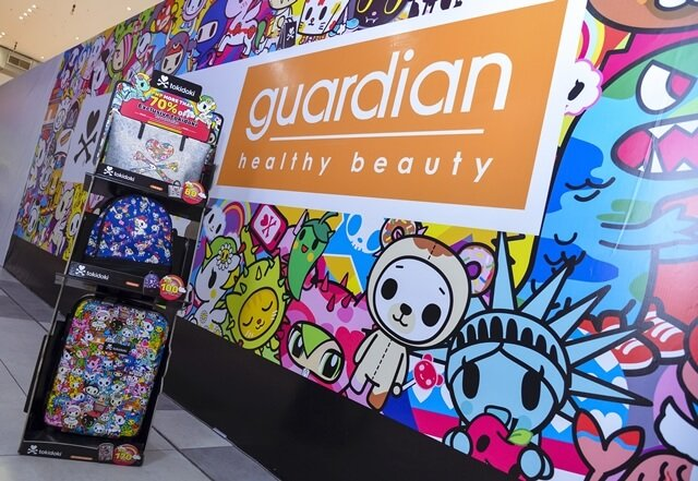 Guardian Exclusive tokidoki Travel Series