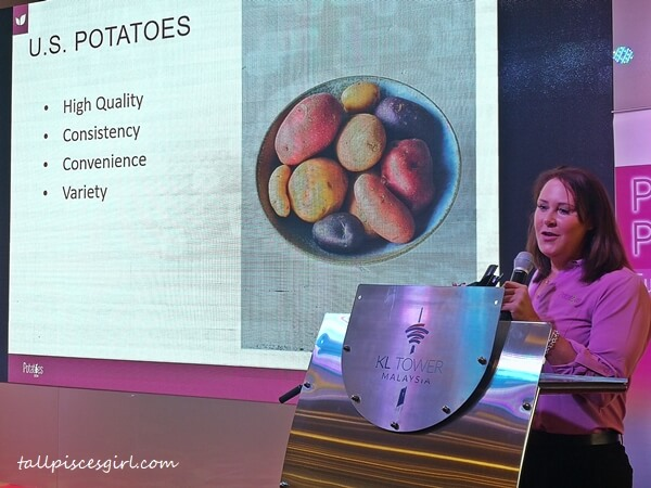 Jill Rittenberg, Global Marketing Manager, Consumer and Nutrition Potatoes USA