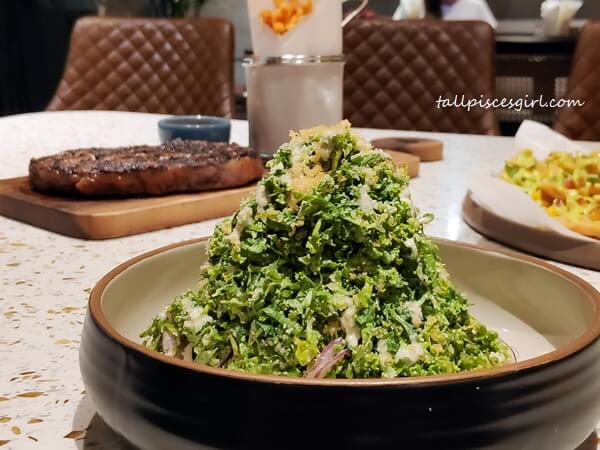 Kale Salad with a Crunch (Price: RM 22)