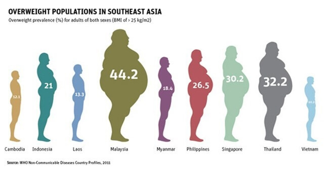 Obesity in Southeast Asia