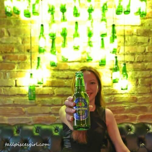 Trying out Heineken 0.0