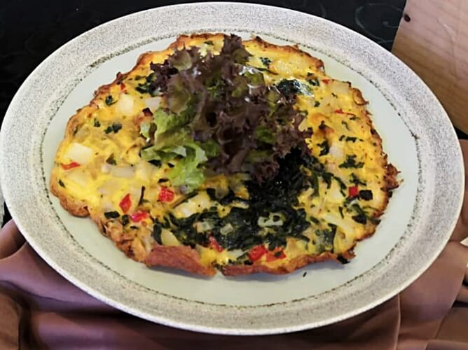 U.S. Potato Power Frittata with Spinach