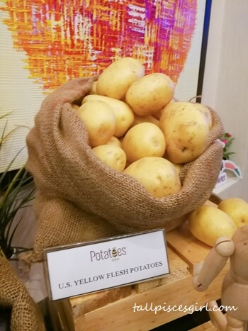 U.S. Yellow Flesh Potatoes
