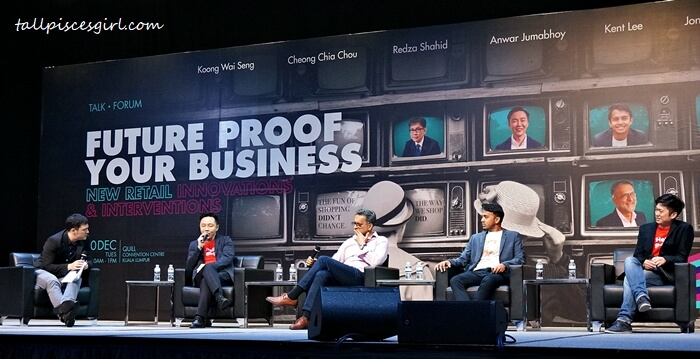 "6 industry experts led an expert forum about ""Future Proof Your Business - New Retail Innovations and Interventions"" at Quill City Convention Center"