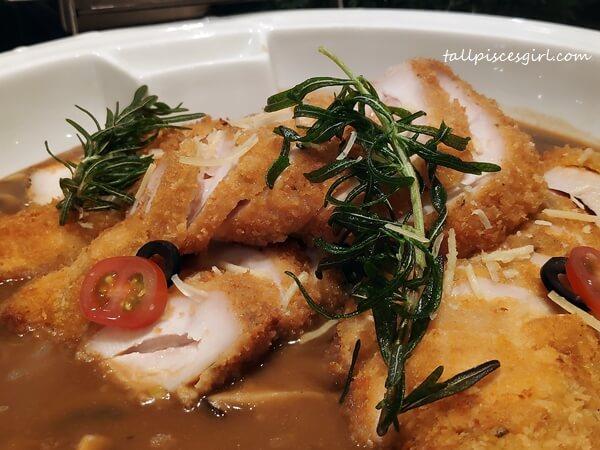 Chicken Cordon Bleu with Mushroom Sauce