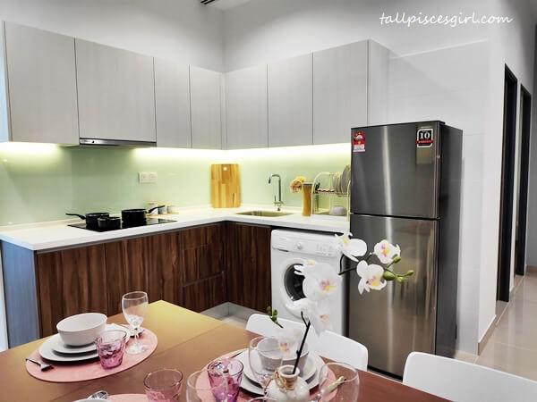 Kitchen and Dining Area at Plaza @ Kelana Jaya