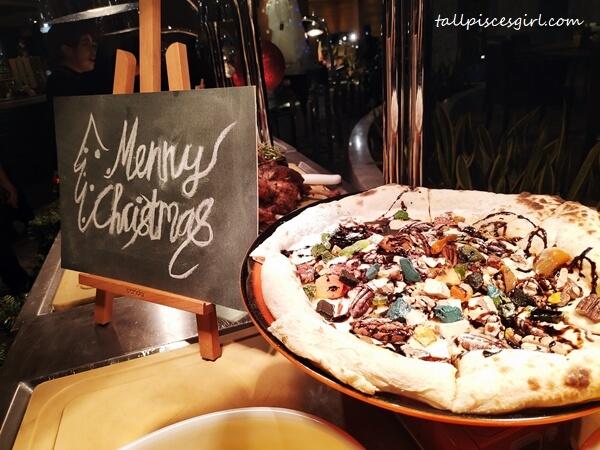 Pizza di Natale with Chocolate @ Prego, The Westin Kuala Lumpur