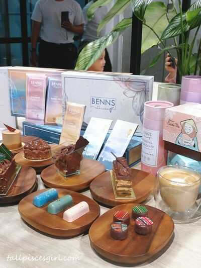 Some of the artisanal products you can find at Benns Ethicoa Chocolate Factory and Cafe