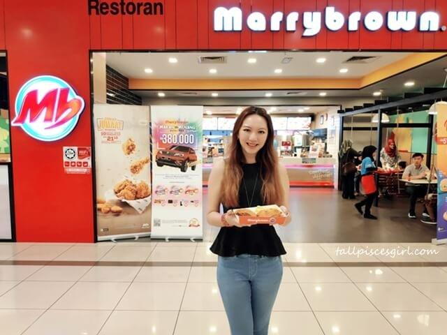tallpiscesgirl X Marrybrown Makan dan Menang KAW KAW