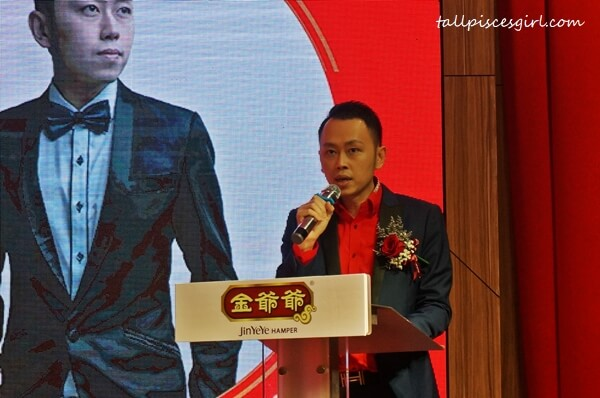 Managing Director of Jin Ye Ye, Alan Tan