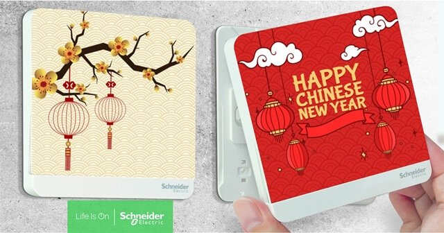 Schneider Electric AvatarOn Chinese New Year Decoration