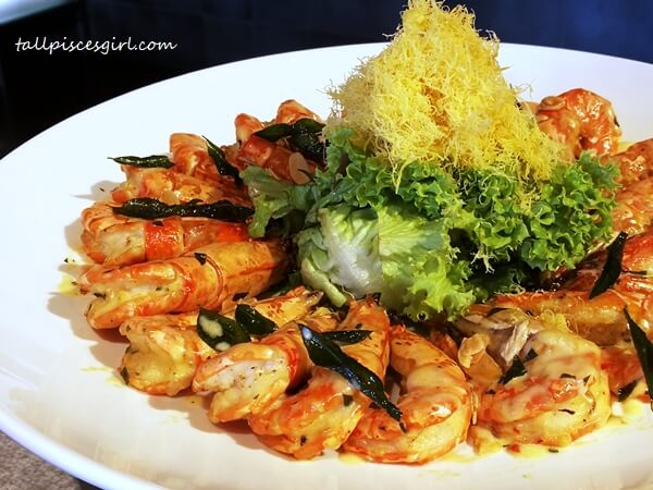 Stir Fried Prawns with Butter Milk Sauce
