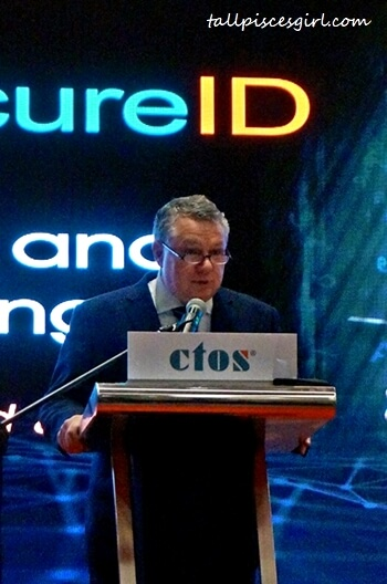 Dennis Martin, Group CEO of CTOS