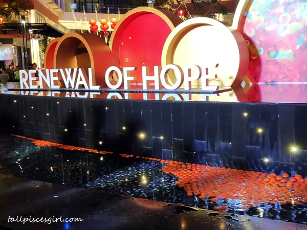 Hennessy Renewal of Hope Fountain