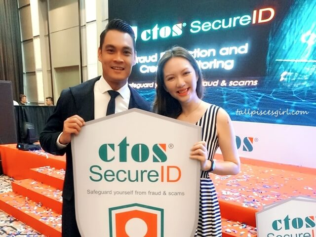Hisyam Hamid (Captain CTOS) X tallpiscesgirl for CTOS SecureID