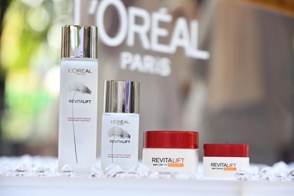 Launch of Loreal Paris Revitalift Crystal Micro-Essence and Loreal Paris Revitalift Day Cream