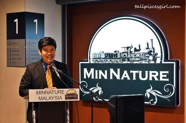 Founder of MinNature Malaysia, Alvin Wan Cheng Huat