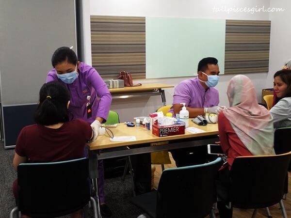 Free blood test thanks to Kelana Jaya Medical Centre