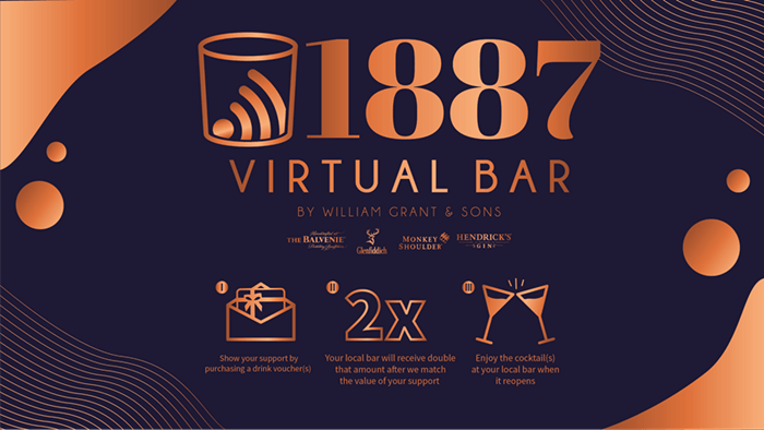 1887 Virtual Bar by William Grant and Sons
