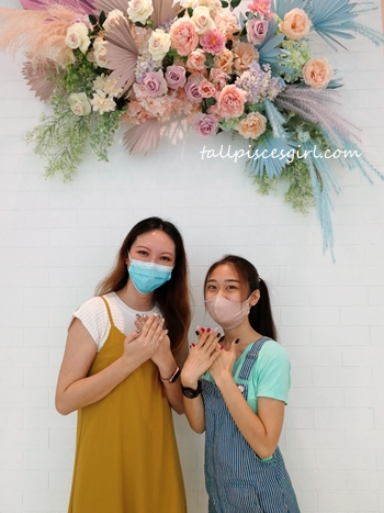 Charmaine X Mei Yee at Maniqure Sri Petaling