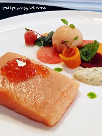 Citrus Confit Norwegian Salmon