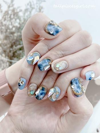 Marble Nails @ Maniqure Sri Petaling
