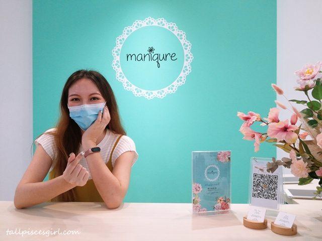 tallpiscesgirl X Maniqure Nail Salon, Sri Petaling
