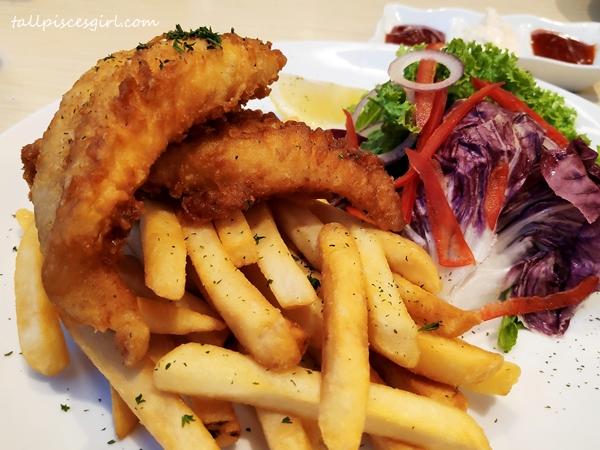 Fish n Chips @ Garden Grille Hilton Garden Inn Puchong