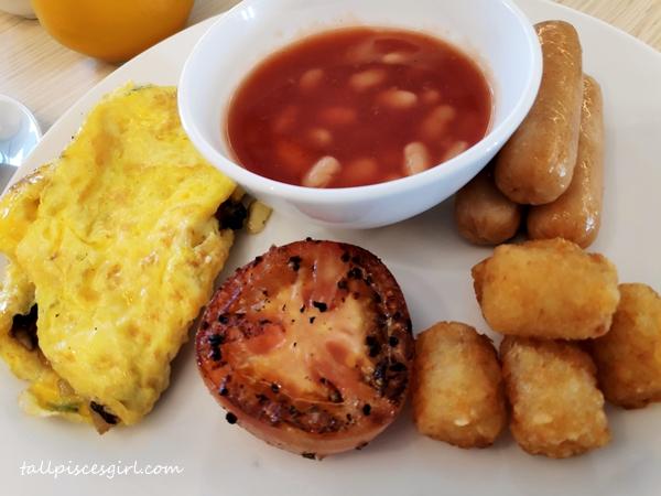 Omelette American Style Breakfast